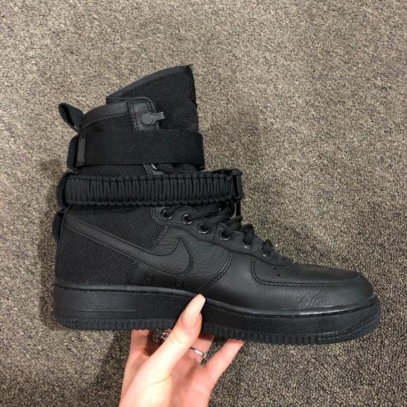Nike Shoes | Sf Air Force 1 Triple Black | Poshmark
